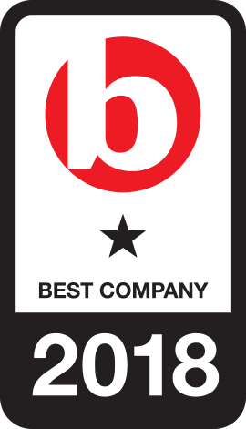 Best Companies accredited organisation title=
